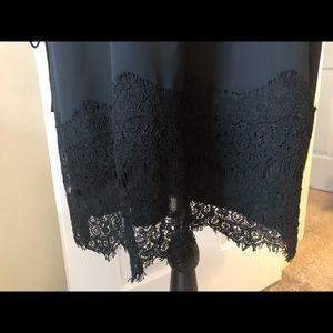 LOFT Dresses - Loft Off the Shoulder Black Dress